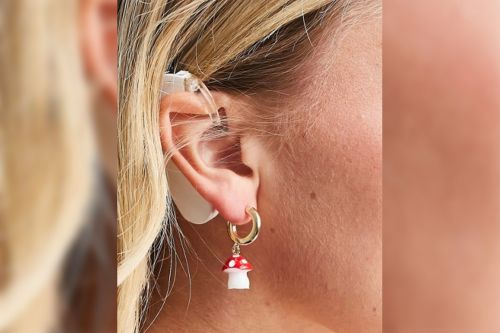 Fashion brand ASOS praised for featuring model with cochlear implant in earrings ad