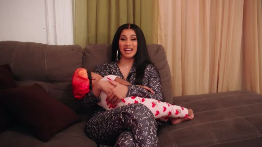Cardi B 'Can't Help Spoiling' Her Daughter Kulture With Designer Clothes, Jewelry and Toys