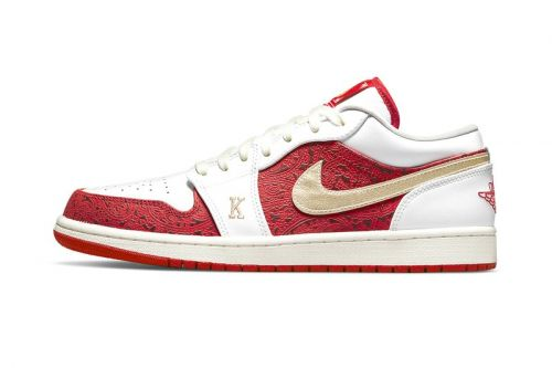 """The Air Jordan 1 Low """"Spades"""" Features Details of a High Hand"""