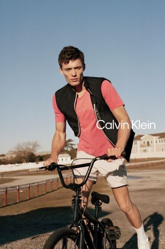 João Knorr Goes Sporty for Calvin Klein Performance Spring Campaign