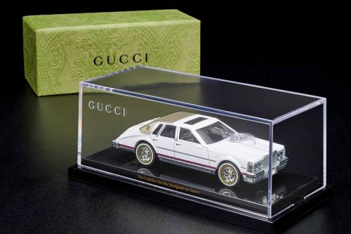 Mattel Creations Introduces Limited-Edition Gucci Cadillac Seville x Hot Wheels Collectible