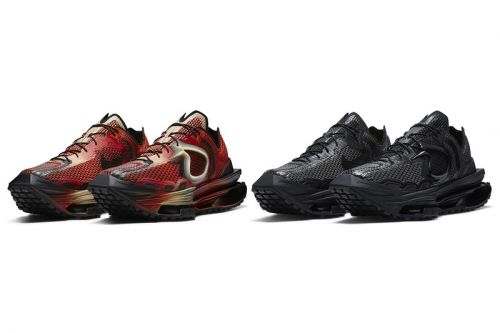 "Official Looks at Matthew M Williams' Nike Zoom MMW 4 in ""Rust Factor"" and ""Triple Black"""