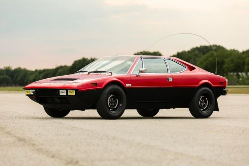 A 1975 Ferrari 308 GT4 Repurposed for a Safari is Up for Auction