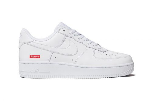Take an Official Look at the Supreme x Nike Air Force 1 Low