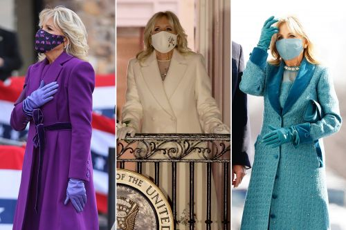 Meet the NYC designer behind Jill Biden's elegant inauguration gloves