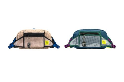 Brain Dead's Rush Hour Waist Pack Receives Supple Sherpa Fleece Treatment