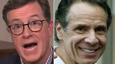 Stephen Colbert Gets TMI About Andrew Cuomo's Possibly Pierced Nipples