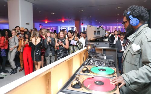 Nordstrom opens women's flagship with celebrity-studded party