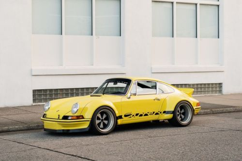 An RWB-Backdated 1987 Porsche 911 Carrera Coupe Is Up for Auction
