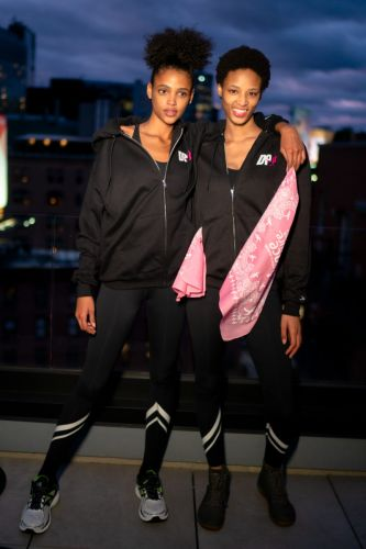 The Lions NY Celebrate Breast Cancer Awareness Month