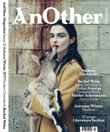 From the Archive: Rachel Weisz Quizzed by Artist and Writer Harland Miller