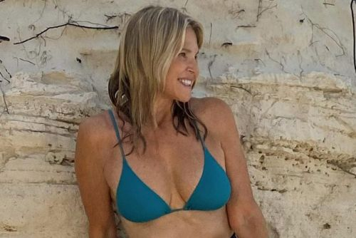Christie Brinkley, 66, is back in a bikini after hip surgery