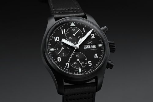 IWC Pays Tribute to Classic 3705 Ceramic Pilot's Chronograph