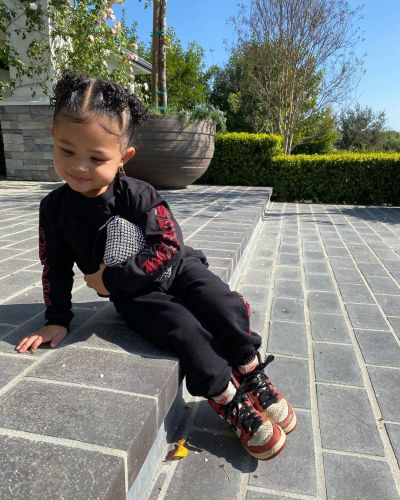 Kylie Jenner's Daughter Stormi Webster Serves Style Cues in Cute New Pics