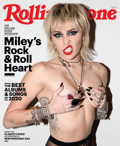 Miley Cyrus Goes Fully Topless In 'Rolling Stone,' And Looks Super Sexy: Photos