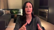 Courteney Cox Recalls A Hilarious Moment From Being In The 'Friends' Fountain