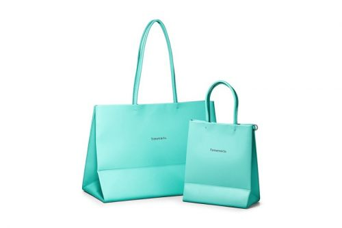 Tiffany & Co. Converts Its Iconic Gift Bag Into Premium Leather Totes