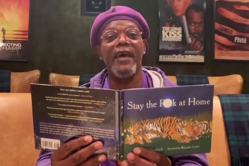 Samuel L. Jackson has a coronavirus message: 'Stay the f-k at home'