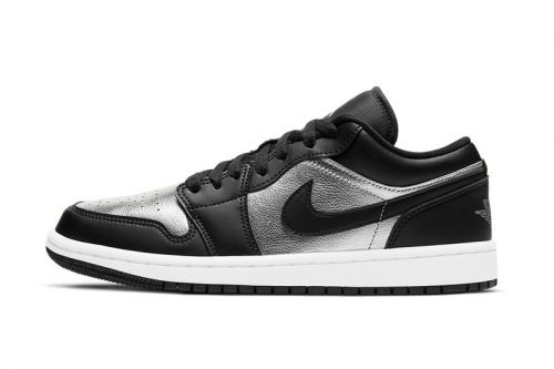"Air Jordan 1 Low Gets Treated With ""Silver Toe"" Inspired Color Schemes"