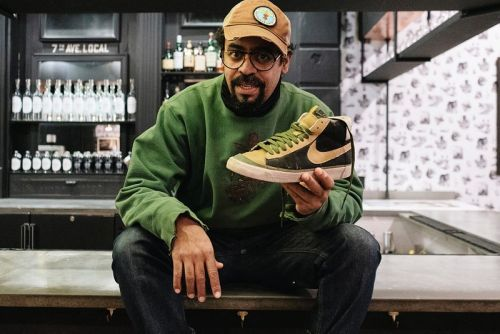 Sole Mates: Dave Ortiz and the Futura x Nike Blazer