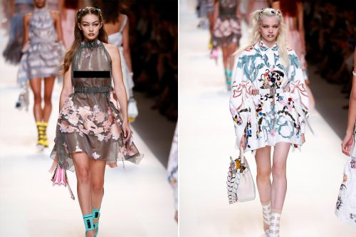 Milan Fashion Week: Silvia Venturini Fendi makes florals fashionable