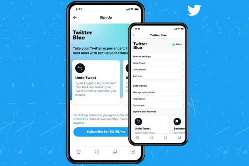Twitter Blue Subscription Service Launches in Australia and Canada