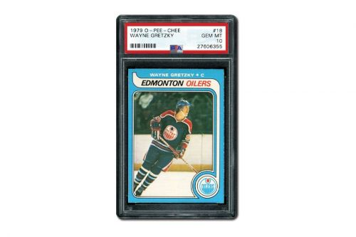 Rare 1979 Wayne Gretzky Rookie Card Auctions for Record $3.75 Million USD