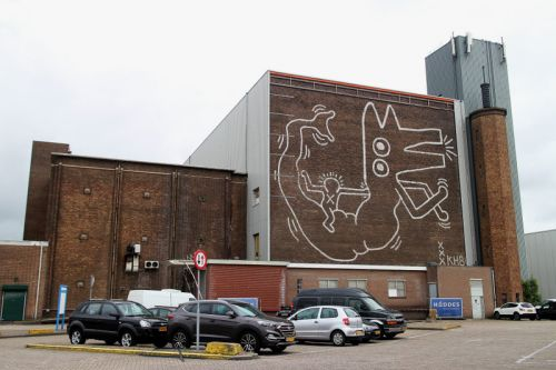 Keith Haring Mural Discovered in Amsterdam After 30 Years