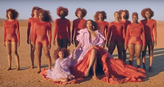 Fans think there is a secret message in the hair of Beyoncé's 'Spirit'