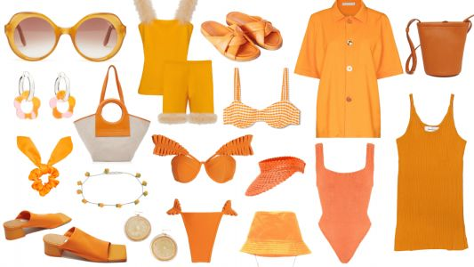 If You Want to Feel Like Sunshine, You'll Have to Wear Orange This Spring