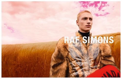 Lennert, Luca & David Venture Outdoors for Raf Simons Fall '20 Campaign