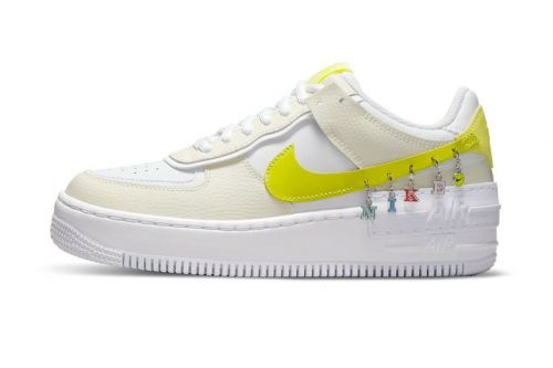 """The Nike Air Force 1 Shadow """"Have A Nike Day"""" Features Anklet-Like Details"""