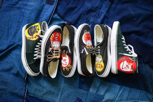 Classic Vans Silhouettes Receive Traditional Japanese-Inspired Makeovers