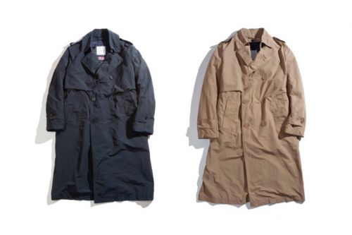 Blue Blue Japan Links With Mackintosh Philosophy for a 3-Way Trench Coat