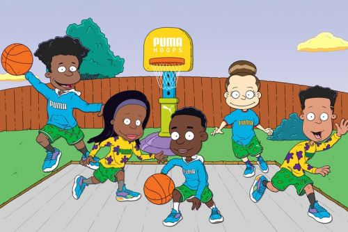 Nickelodeon Partners with PUMA Hoops for Special 'Rugrats' Collection