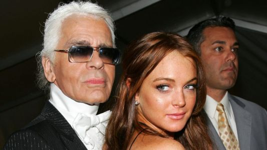 Great Outfits in Fashion History: Lindsay Lohan Looking Ethereal and Summery in Chanel