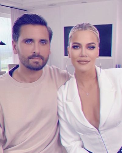 Scott Disick Claps Back at Fan Who Shades Khloe Kardashian's Looks: 'Who Is She?'