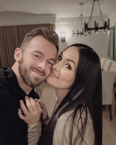Artem Chigvintsev Shares Sweet Birthday Tribute to Fiancee Nikki Bella: 'You Are My Rock'