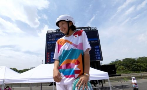 A 13-year-old just won the first ever Olympic gold in women's skateboarding