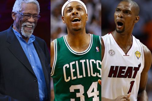 Chris Bosh, Paul Pierce and Bill Russell Join Basketball Hall of Fame 2021 Class