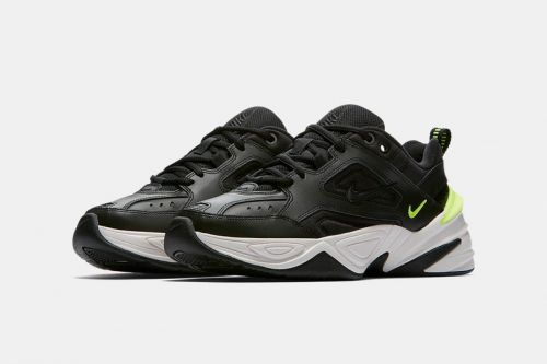 "You Can Now Raffle For the Nike M2K Tekno ""Black Volt"" & ""Phantom"""