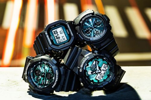 G-SHOCK Drops Midnight Green Capsule Collection