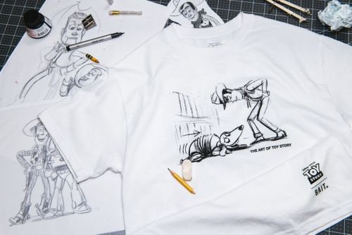 """BAIT Teams With Disney and Pixar on Hand-Drawn """"Toy Story"""" Capsule"""
