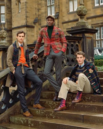 Hamid, Angus & Jegor Travel to Scotland in POLO Ralph Lauren Fall '19 Collection