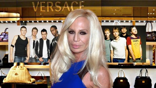 Strap in for a story that unites Blur, Blue, and Donatella Versace
