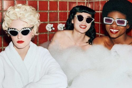"""Gucci's """"Hollywood Forever"""" Sunglasses Serve Vintage Glamour"""