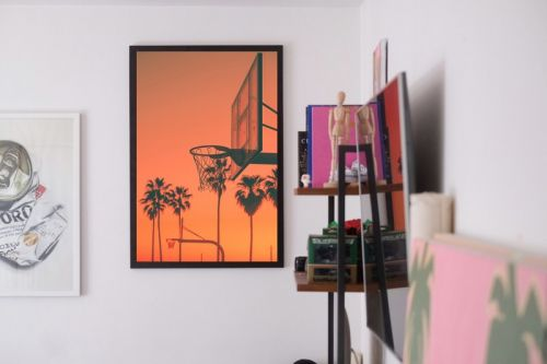 """Photographer Will Nichols Draws Parallels Between """"Palm Trees & Basketball"""" in New Collection"""