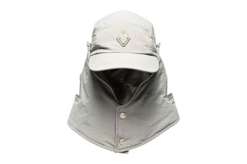 A-COLD-WALL* Crafts Stealthy Gray Buttoned Desert Hat