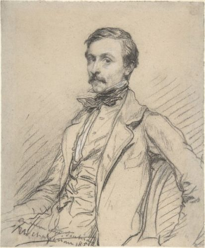 Ernest Chassériau by Théodore Chassériau, 1851