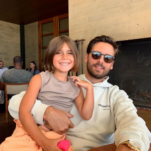 Scott Disick Shares a Cute Photo of Daughter Penelope Enjoying a Pool Day Amid Quarantine: 'With Pinop'